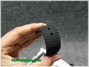 Dây cao su vỏ bánh xe (22mm) chốt thông minh